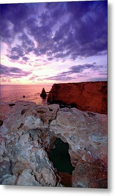 Sunset At Cabo Rojo Metal Print by George Oze