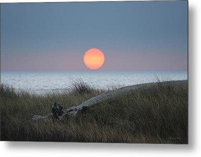 Sunset At Halfmoon Bay Metal Print