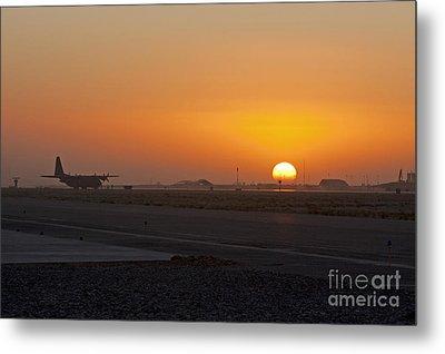 Sunset At Kandahar Metal Print by Tim Grams
