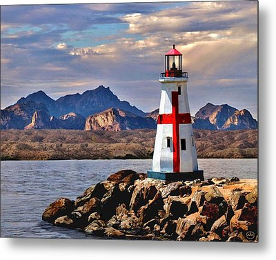 Sunset At Lake Havasu Metal Print