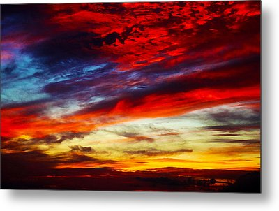 Sunset At Louie's Metal Print
