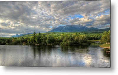 Sunset At Mt. Katahdin Metal Print