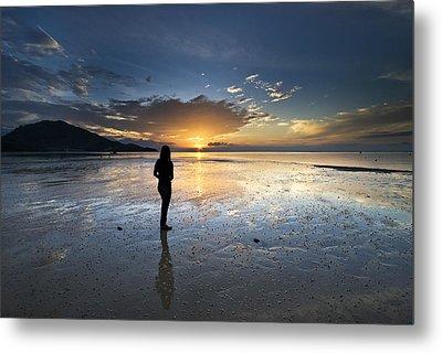 Sunset At Phuket Island Metal Print by Ng Hock How