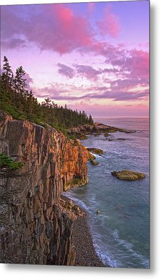 Sunset At Ravens Nest Metal Print by Juergen Roth