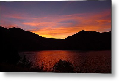 Metal Print featuring the photograph Sunset At Woodhead Campground  by Joel Deutsch