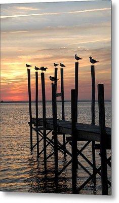Sunset Bay 27 Metal Print by Joyce StJames