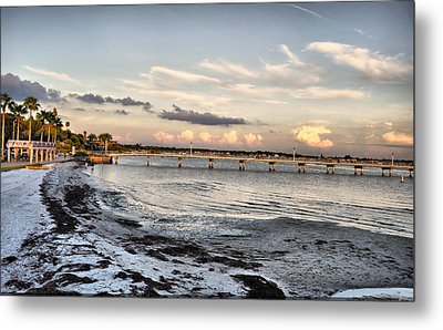 Sunset Blues Metal Print by Rose  Hill