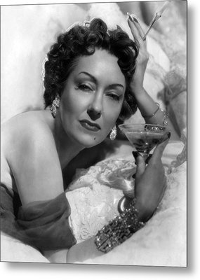 Sunset Boulevard, Gloria Swanson, 1950 Metal Print
