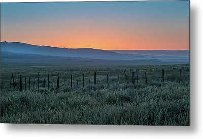Sunset, Carrizo Plain Metal Print by Joseph Smith