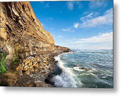 Sunset Cliffs Metal Print by Ryan Weddle