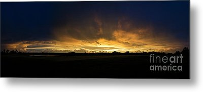 Metal Print featuring the photograph Sunset Clouds by Brian Jones