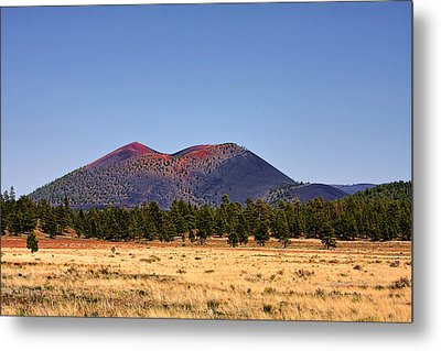 Sunset Crater Volcano National Monument Metal Print by Christine Till