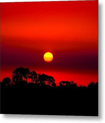 Sunset Dreaming Metal Print by Az Jackson