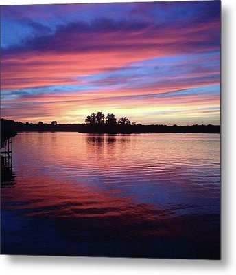 Sunset Dreams Metal Print by Rebecca Wood