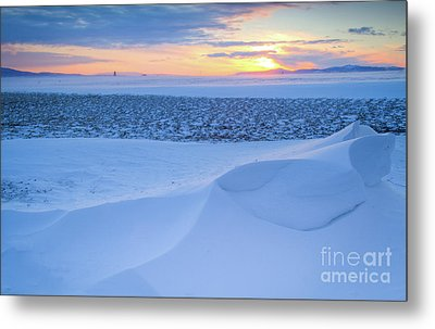 Sunset Drift Metal Print by Idaho Scenic Images Linda Lantzy