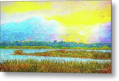 Sunset Ecstasy Metal Print by Joel Bruce Wallach