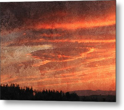 Sunset Event Metal Print by Dorothy Berry-Lound