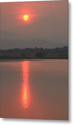 Sunset Fire Metal Print by James BO  Insogna