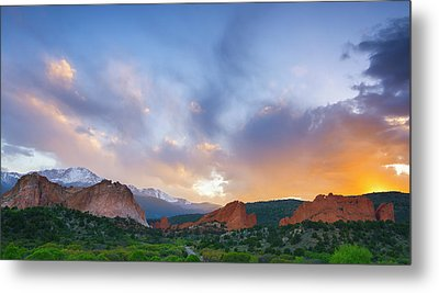 Metal Print featuring the photograph Sunset Forever by Tim Reaves