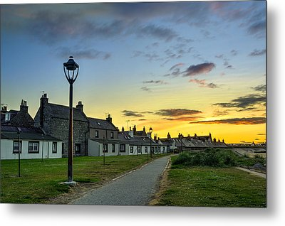 Sunset From Fittie Metal Print