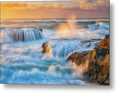 Metal Print featuring the photograph Sunset Fury by Darren White