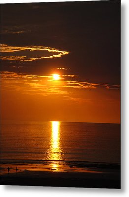 Sunset Glory Metal Print by Kelly Jones