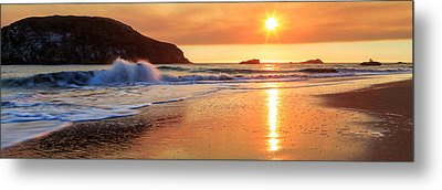 Metal Print featuring the photograph Sunset In Brookings by James Eddy