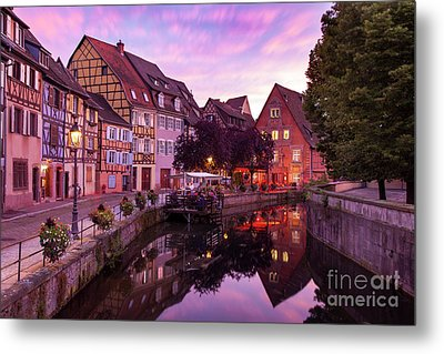 Sunset In Colmar Metal Print by Brian Jannsen