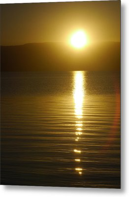Sunset In January Metal Print