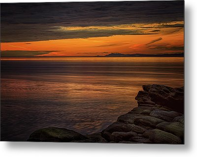 Sunset In May Metal Print by Randy Hall