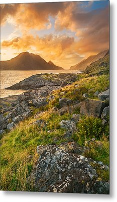 Metal Print featuring the photograph Sunset In The North by Maciej Markiewicz