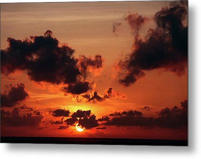 Metal Print featuring the photograph Sunset Inspiration by Jenny Rainbow