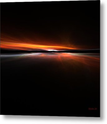 Sunset Island Metal Print by Steve K