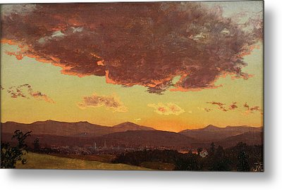 Sunset Metal Print by Jervis McEntee