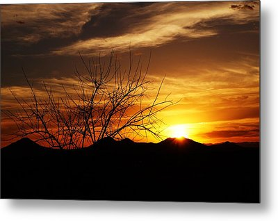 Sunset Metal Print by Joseph Frank Baraba