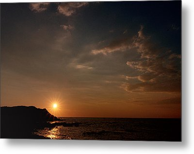 Metal Print featuring the photograph Sunset   by Laura Melis
