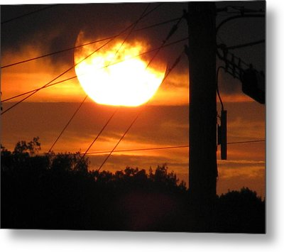 Sunset Metal Print by Lindie Racz