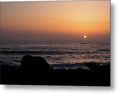 Metal Print featuring the photograph Sunset by Lora Lee Chapman