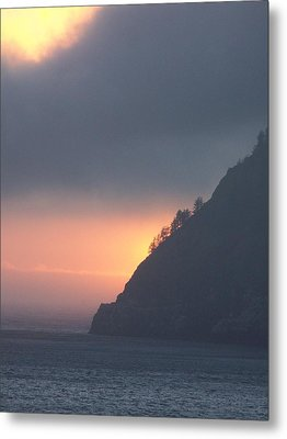Sunset On Cape Lookout Metal Print by Angi Parks