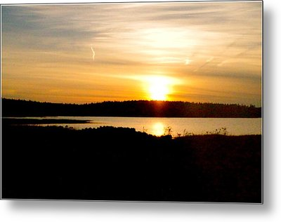 Sunset On Morrison Beach Metal Print