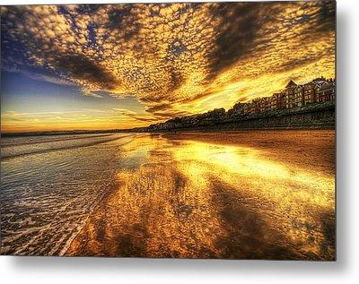 Sunset On The Beach Metal Print by Svetlana Sewell
