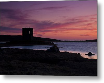 Metal Print featuring the photograph Sunset On Uist by Gabor Pozsgai