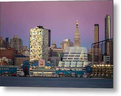 Metal Print featuring the photograph Sunset Over Chelsea by Eduard Moldoveanu