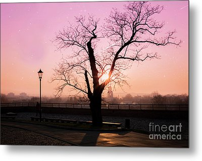 Metal Print featuring the photograph Sunset Over Krakow by Juli Scalzi