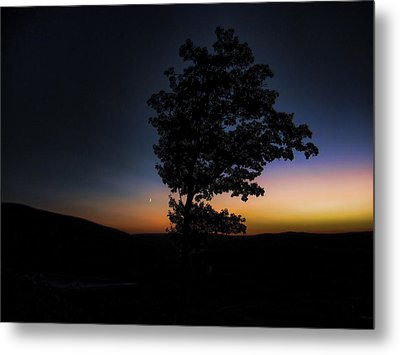 Metal Print featuring the photograph Sunset Over Pennsylvania by Maciek Froncisz