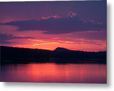 Sunset Over Sabao Metal Print by Brent L Ander