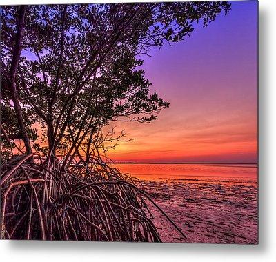 Sunset Palette Metal Print