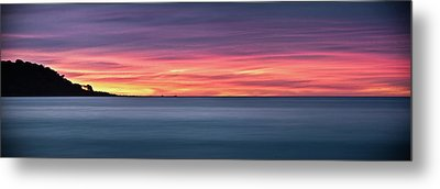 Sunset Penisular, Bunker Bay Metal Print by Dave Catley