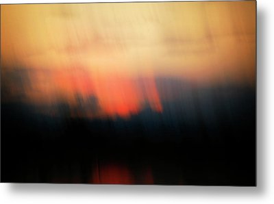 Metal Print featuring the photograph Sunset Raining Down by Marilyn Hunt
