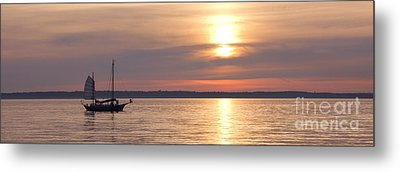 Sunset Sail Metal Print by Idaho Scenic Images Linda Lantzy